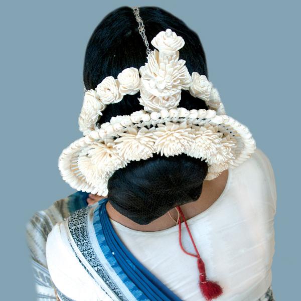 Odissi dance head dress