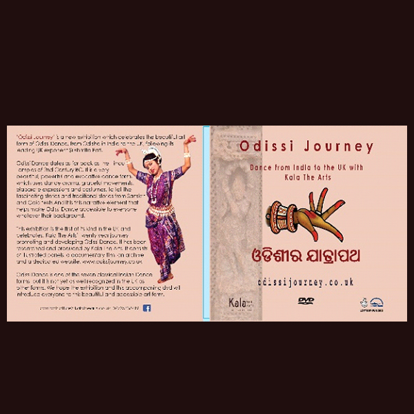 gal19'Odissi Journey'exhibition brochure