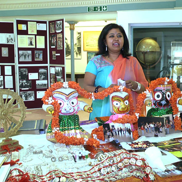 2013 Parampara exhibition at the Willis Museum and The Nehru Centre, London